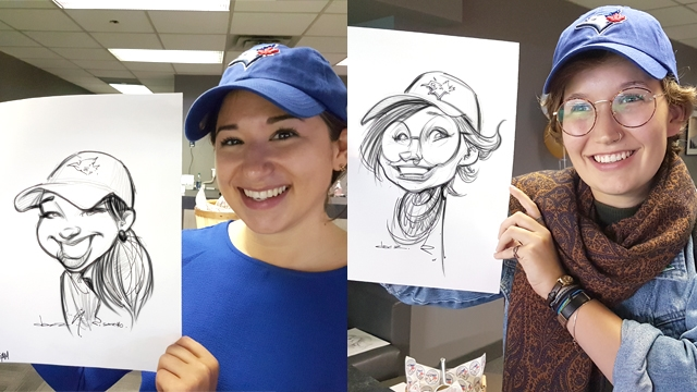Party caricatures and illustrations in Canada